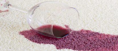 enlever tache vin rouge
